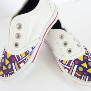 Other - NWOT Hand Painted Toddler Shoes